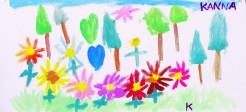 018_「青空の下のお花畑」_佐々木かんな