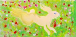 009_「春の野うさぎ」_北田愛