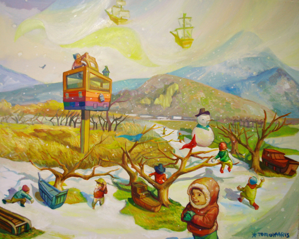 冬の浮き島